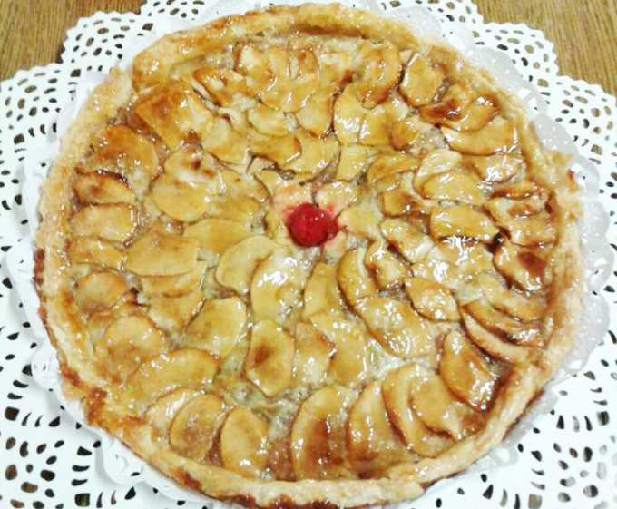 Milhojas de manzana por Covaro