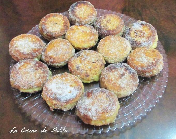 Galletas fritas al aroma de vainilla por La Cocina de Adita