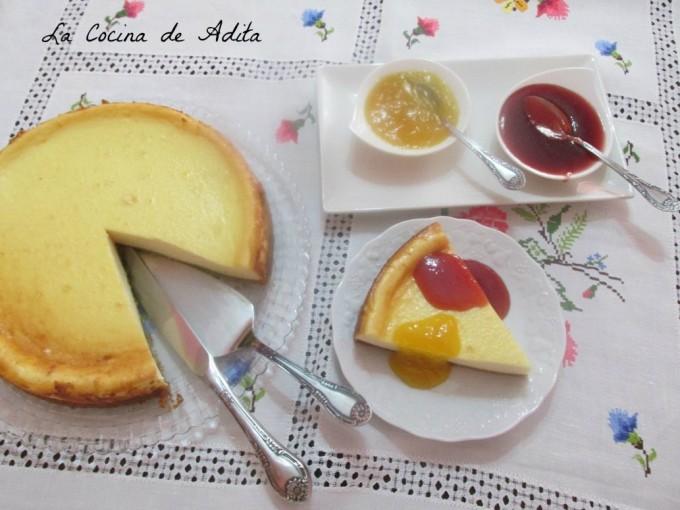 Tarta de queso al horno, la mejor tarta del mundo por La Cocina de Adita