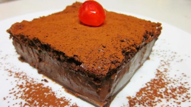 Tarta Mágica de Chocolate por Anngranger