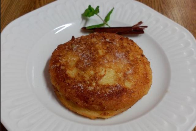 Torrijas rellenas de manzana caramelizada por Covaro