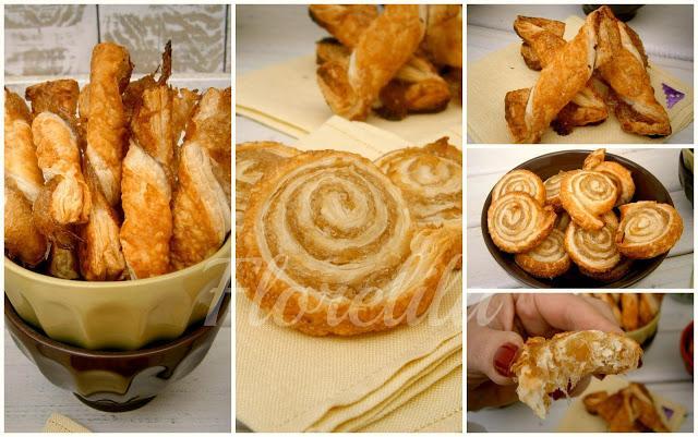 Espirales y torcidas de hojaldre y cabello de angel por Florelila