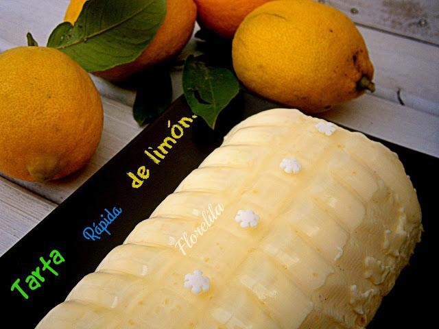 Tarta rápida de limón por Florelila