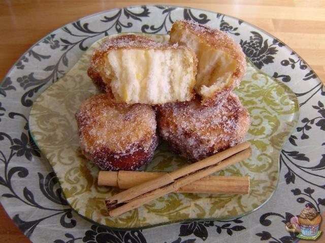 Rollos de torrija de naranja por Marisalas
