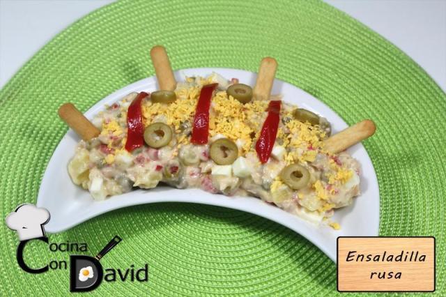 Ensaladilla rusa por Cocina con David