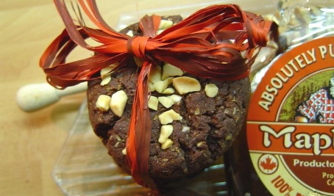 Cookies con sirope de arce y cacao por Marisalas