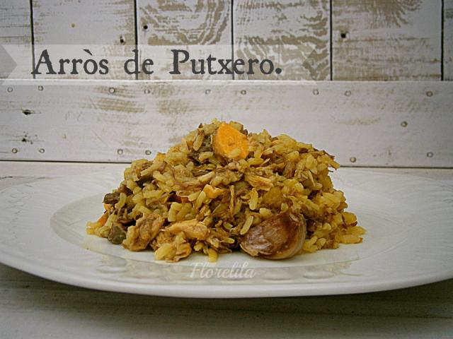 Arroz de Putxero, arroz de cocido por Florelila