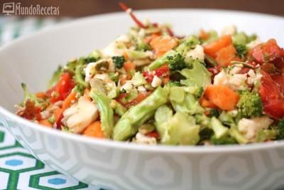 Ensalada detox o ensalada de verduras