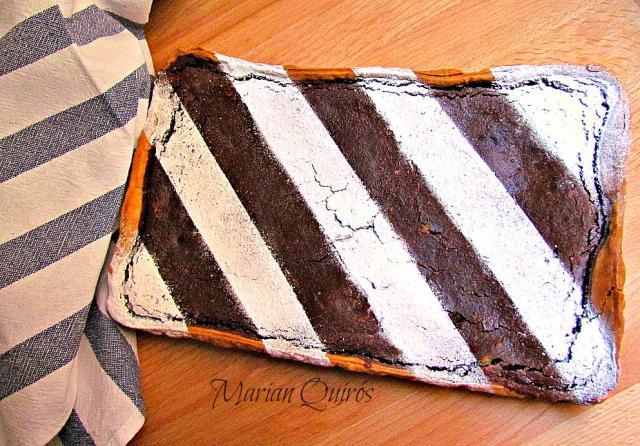 Tarta de chocolate y avellanas por Marianquiros