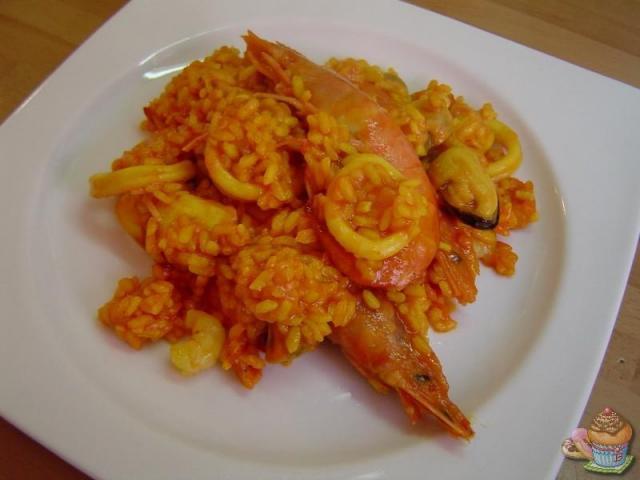 Paella de marisco por Marisalas