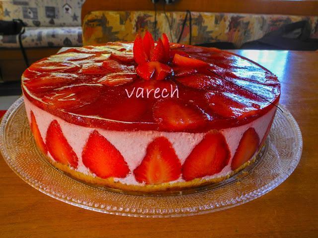 Tarta de fresas por Varech