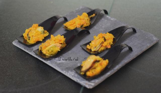 Mejillones en escabeche (Varoma) por Jalapa