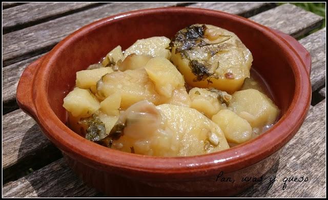 Patatas en salsa verde 1