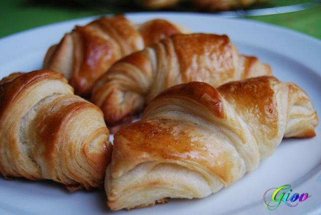 Croissants caseros por Giov