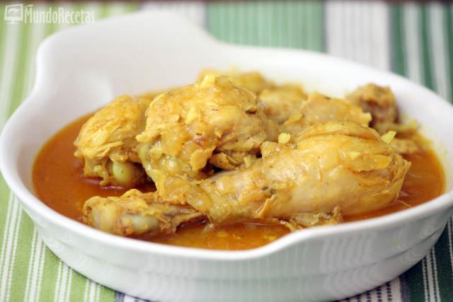 Pollo al estilo marroquí