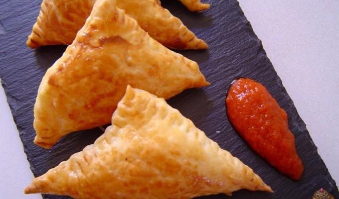 Empanadillas de queso a la parrilla (argentinas) por Marisalas