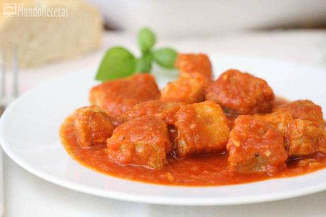 Magro con tomate en Thermomix
