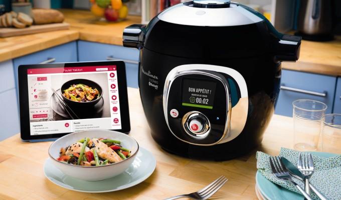 Nuevo Cookeo Connect ¡Una infinidad de platos diarios fáciles y rápidos!
