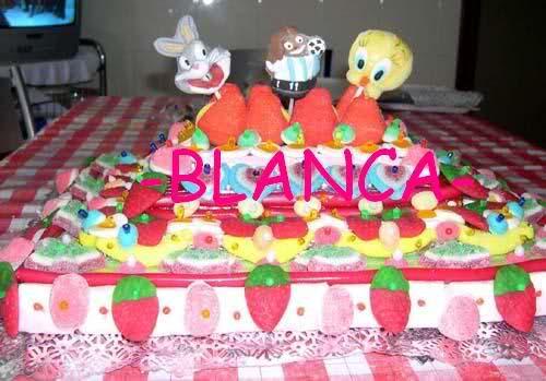 Paso a paso y recopilación de las tartas de chuches de -BLANCA-