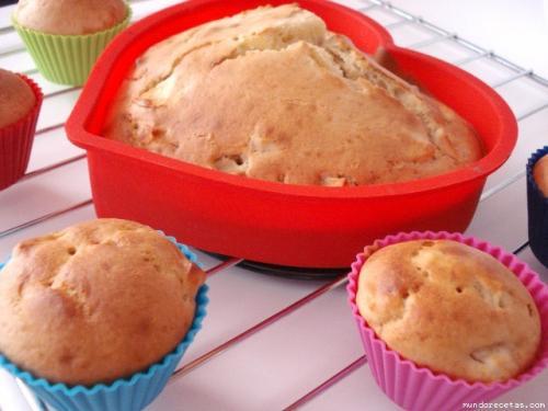 Muffins de Manzana y Plátano de comoju