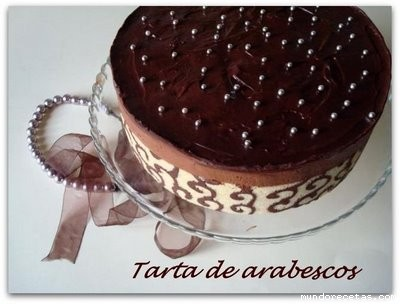 Tarta arabescos by Alegna