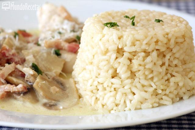Arroz blanco para guarnición