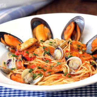 Mundo recetas recetas de cocina y thermomix foro de cocina - Espaguetis con chirlas ...
