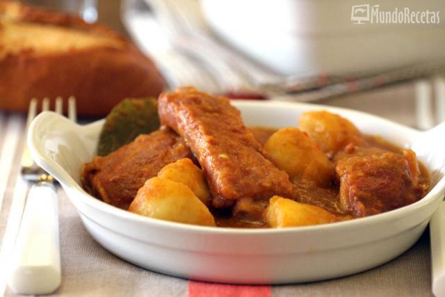 Patatas con costillas en TM5