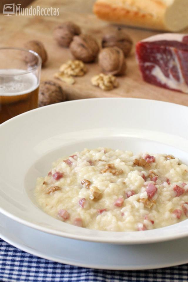 risotto-de-queso-brie-jamon-y-nueces-2