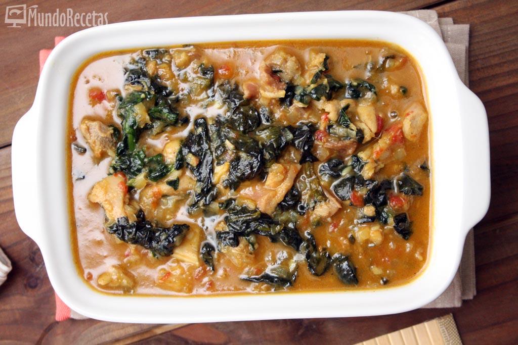 pollo al curry con espinacas thermomix 1