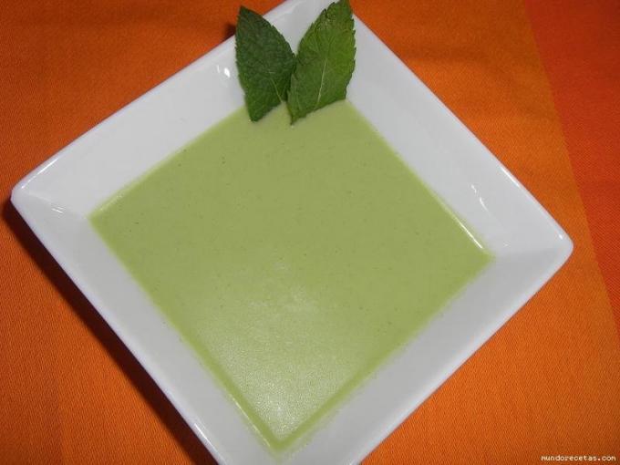 Gazpacho de pepino por Concha