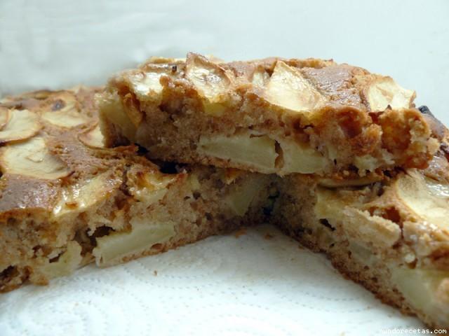 Tarta Sueca de manzana con canela por Capisi