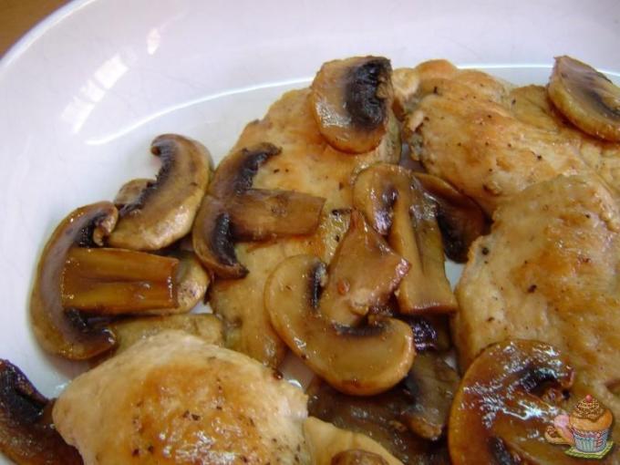 Pollo flambeado por Marisalas