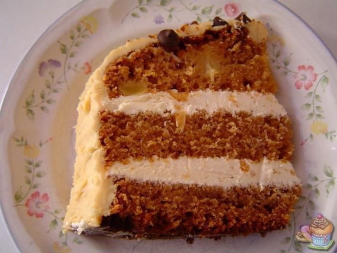 Layer cake de manzana caramelizada por Marisalas