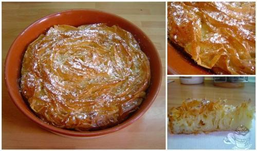 Tarta ruffle milk pie por Marisalas