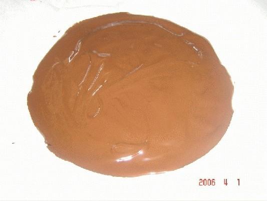 Baño Blanco Thermomix:Fundir al baño maría (o en la Th) el chocolate fondant, viértalo