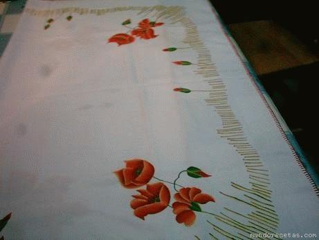 dibujos para pintar un mantel - Foro Manualidades - MundoRecetas.