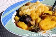 Patatas con bacalao y setas (chef-o-matic)
