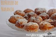 Buñuelos de naranja.