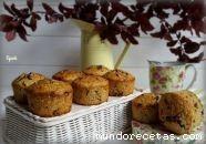 Muffins de avena, plátano y chocolate (Thermo ...