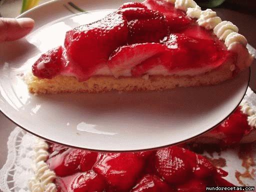 recetas tarta de fresas