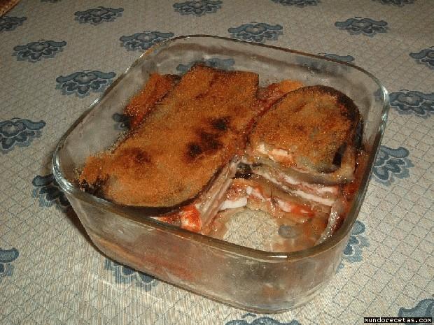 Receta de Berenjenas al queso fresco ahumado Maxorata