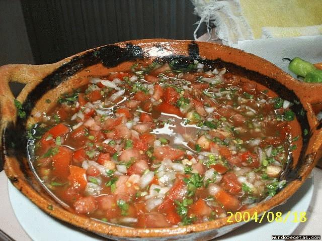Recetas de Salsas Mexicanas Receta de Salsa Mexicana o