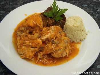 Pollo de la abuela con guarnici n de arroz blanco thermomix for Arroz blanco cocina al natural