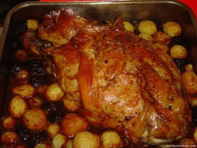 Jamon de cerdo al horno - Receta bogavante al horno ...