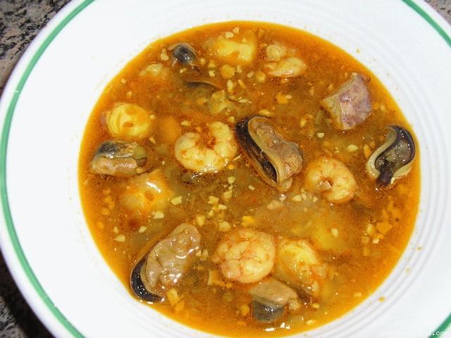 Sopa de marisco chef 2000 - Sopa de marisco y pescado ...