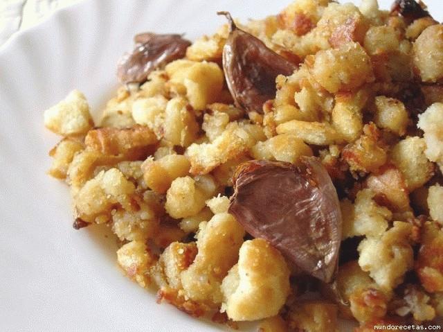 Receta de Migas (receta de mi abuela)