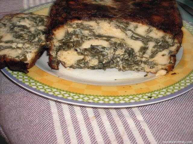 Receta de Quiche de Wakame y queso