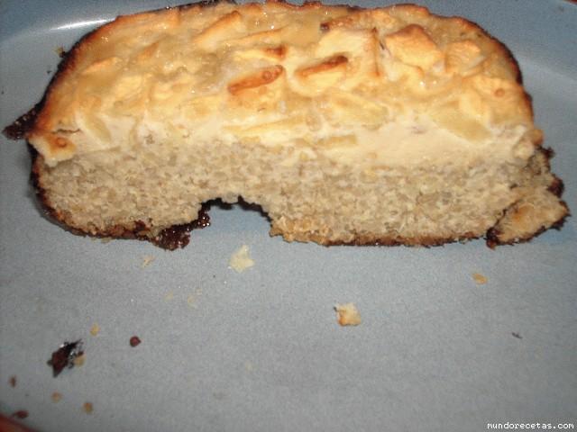 Receta de Pastel de quinoa y manzana