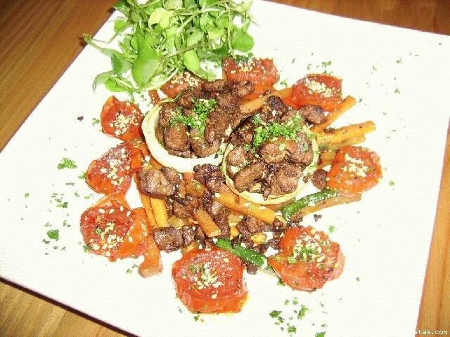 Receta de cebollas asadas rellenas con carne de soya